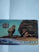 NOUVELLE CALEDONIE NC6 BONHOMME DE BOURAIL 25U SC4 UT RARE N° 43998GE