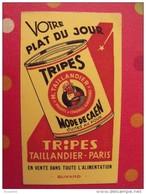 Buvard Tallandier-Paris. Tripes à La Mode De Caen. Vers 1950. - T