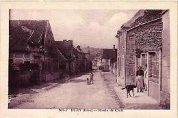 CPA Bury - Route De Creil (259666) - Sin Clasificación