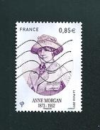 N° Anne Morgan  1873/1952  0.85€  2017  France Oblitéré - France