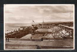 Royaume Uni. St Leonards On Sea. The Bathing Pool. Coin Haut Gauche Abimé - Hastings