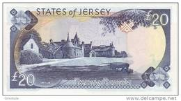 JERSEY P. 29a 20 P 2000 UNC - Jersey