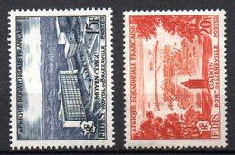 Col3 :  AEF Afrique : N° 234 & 235  Neuf X MH  , Cote : 1,80€ - A.E.F. (1936-1958)