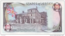 JERSEY P. 30a 50 P 2000 UNC - Jersey
