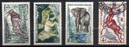 Col3 :  AEF Afrique : N° 238 à 241  Neuf X MH & Oblitéré , Cote : 2,10€ - A.E.F. (1936-1958)
