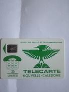 NOUVELLE CALEDONIE NC1C CAGOU VERT 25U SC5 SE UT N° 29592 GE RARE