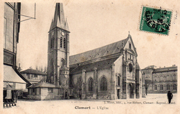 CPA CLAMART - L'EGLISE - Clamart