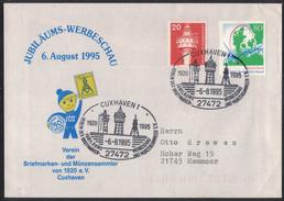 AZ307     CUXHAVEN 1995 Jubiläums-Werbeschau - Sonderstampel - Affrancature Meccaniche Rosse (EMA)