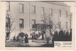 Diegem - Dieghem - Pensionnat De Dames - Jardin D' Agrément - Geanimeerd - Phot. A. Meslin, Vilvoorde - Schools