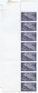ES1170-LA969TVA.Spain Espagne.AVION.BARCO.SUPER-CONSTELLATION Y NAO SANTA MARIA 1955/56.(Ed. 1170**)BL 8 - Variedades & Curiosidades