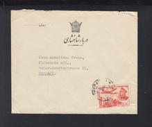 Iran Persia Cover To Germany (4) - Iran