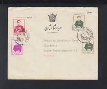 Iran Persia Cover To Germany (5) - Iran