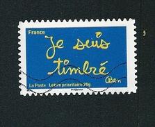 N° 609 Les Timbres De Ben  Je Suis Timbré  France TIMBRE France Oblitéré 2011 - France