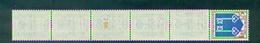 N°1469 Mont De Marsan En Bande De 11 Avec N°700 Rouge. Neuf** - Coil Stamps