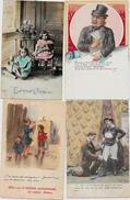 Lot 106 De 100 CPA Fantaisies Illustrateurs Déstockage Pour Revendeurs Ou Collectionneurs  PORT GRATUIT FRANCE - Postales