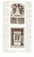 L'HORLOGE HYDRAULIQUE Du JARDIN D'ACCLIMATATION à PARIS     1884 - Clocks