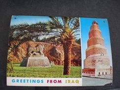 Hillah The Lion Of Babylon, Samarra The Spiral Tower Malweyah - Iraq