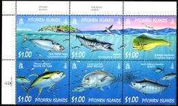 PITCAIRN ISLANDS 2007 Fish, Tuna, Fauna MNH - Pitcairn
