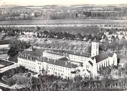 [81] Tarn- DOURGNE Abbaye De Saint-Benoit D'En-Calcat (2) Vue Aérienne Le Monastère (façade Ouest) La Plaine De Verdalle - Dourgne