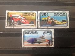 Mongolië / Mongolia - Serie Raceauto's 1978 - Mongolië