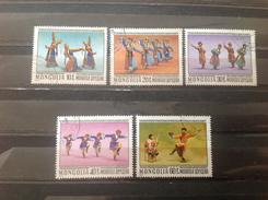 Mongolië / Mongolia - Serie Volksdansen 1977 - Mongolië