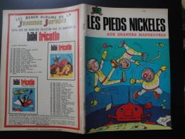 Les Pieds Nickelés  Aux Grandes Manoeuvres  E.O. Jeunesse Joyeuse N° 91  3 Tr 76  Pellos Bon état - Pieds Nickelés, Les