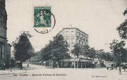 Paris 13ème Arrt - Rues De Tolbiac Et Bobillot - District 13