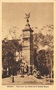 Viet-Nam - Saïgon - Monument Aux Morts De La Grande Guerre - Edition Nadal - Carte Sépia Non Circulée - Viêt-Nam