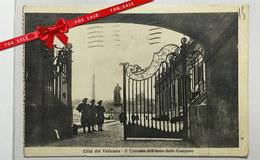 Vaticano Cancello Arco Campane Bells Gate Viaggiata Used Circule Animata Anime 1947 - Vaticano