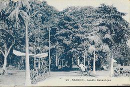 Viet-Nam - Saïgon - Le Jardin Botanique, Pousse-pousse - Carte Cyan N° 22 - Viêt-Nam