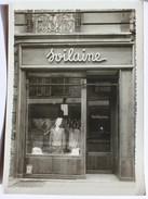 Grande Photo Magasin Ancien Confection Soilaine - Cartes Postales