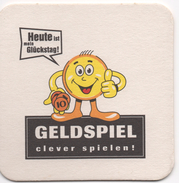 SOUS BOCK  Coaster Bi-face GELDSPIEL  Clever Spielen! - Sous-bocks