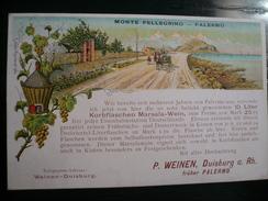 Vino Marsala Palermo Monte Pellegrino Weinen Duisburg  Rara Usata 21.11.1899 Con 3pf.in Germania - Palermo