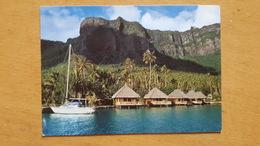 MOOREA HOTEL AIMEO BAIE DE COOK Carte Postale Neuve Années 70 Très Bon état Dos Partagé - Polynésie Française