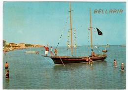 BELLARIA - RIMINI - ANNI '70 - BARCHE - Rimini