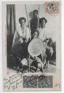 1905 - MIXTE SOMALIS / ETHIOPIE Sur CARTE De DJIBOUTI => PARIS - Côte Française Des Somalis (1894-1967)