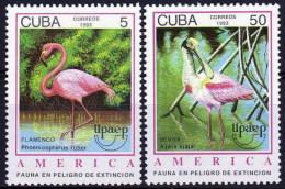 Cuba 3323/3324 ** MNH. 1993 - Unused Stamps