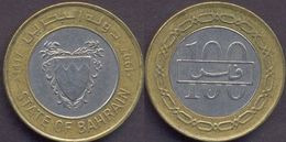 Bahrain 100 Fils 1997 VF Bimetallic Bi-metall (State Of Bahrain) - Bahrein