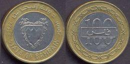 Bahrain 100 Fils 2001 VF Bimetallic Bi-metall (State Of Bahrain) - Bahreïn