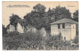 16 - AUBETERRE  - La Chapelle Et Les Ruines Du Château - Coll. Lagorce / D.B. - Autres Communes