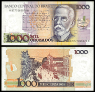 Brazil 1000 CRUZADOS Sign 26 P 213b UNC (Brazil,Brasilien,Brésil, Brasil) - Brazil