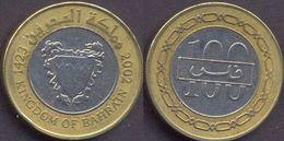 Bahrain 100 Fils 2002 VF Bimetallic Bi-metall (Kingdom Of Bahrain) - Bahreïn