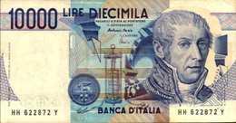 ITALIE  10000 LIRE Du 3-9-1984  Pick 112d  XF/SUPL - [ 2] 1946-… : República