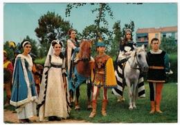 FAENZA - PALIO DEL NIBALLO - 29 GIUGNO - LE DAME DEI RIONI - 1971 - Faenza