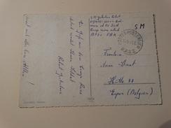 BPS 2-franchise Postale Sur Carte Postale Vers Eupen - Postmark Collection
