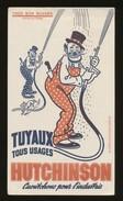 Buvard - Tuyaux Tous Usages Hutchinson - Blotters
