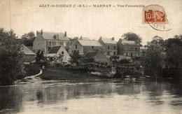 AZAY LE RIDEAU MARNAY VUE D ENSEMBLE - Azay-le-Rideau