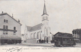 Genève - Eaux-Vives Avec Tram - 1904     (P27-121220) - GE Genève