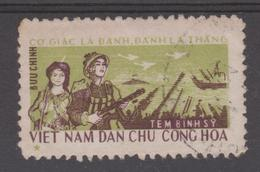 N.VIETNAM   1966   MILITARY   Used  Réf  G893  RARE - Vietnam