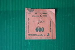 IPPODROMO DI VINOVO - RICEVUTA SCOMMESSA - ANNI 60 - Equitazione